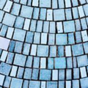 Blue Tiles Art Print