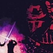 Star Wars On Art Art Print