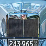1743.040 1930 Mg Classic Car Art Print