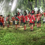1763 Battle Of Bushy Run Pennsylvania Art Print