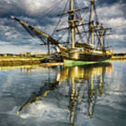 1797 Trading Ship Replica - Friendship Of Salem Art Print