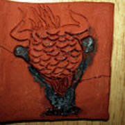 Crazy Pineapple - Tile Art Print