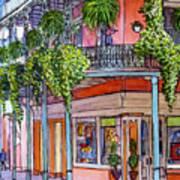 18  French Quarter Art Gallery Art Print