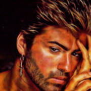 George Michael Collection Art Print
