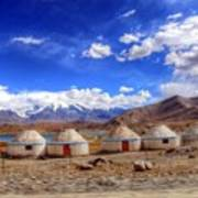 Xinjiang Province China Art Print