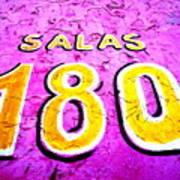 180 Santiago Pinked  Art Print