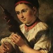 1820- Vasily Tropinin Art Print