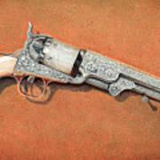 1851 colt navy revolver painting by glenn cernosek