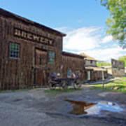 1863 H. S. Gilbert Brewery - Virginia City Ghost Town Art Print