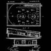 1871 Bagatelles Patent Drawing Art Print