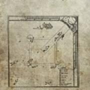 1887 Baseball Game Patent Art Print