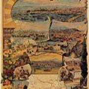 1890s Oriental Railways To Constantinople Art Print