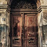 1891 Door Cyprus Art Print