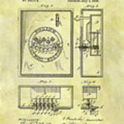 1895 Police Call Box Art Print
