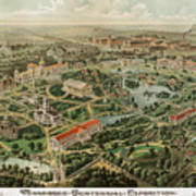1897 Nashville Tennessee Art Print