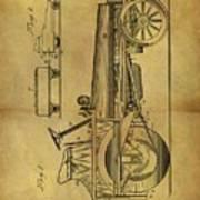 1907 Tractor Patent Art Print