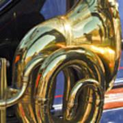 1910 Pope Hartford T Brass Horn Art Print