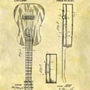1911 Guitar Patent Art Print