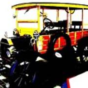 1912 Ford Model T Taxi Art Print