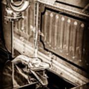 1912 Rolls-royce Silver Ghost Rothchild Et Fils Style Limousine Snake Horn -0711s Art Print