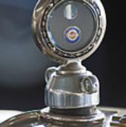 1916 Packard Hood Ornament  Art Print