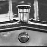 1917 Winton Six-33 Sport Touring Hood Ornament 2 Art Print
