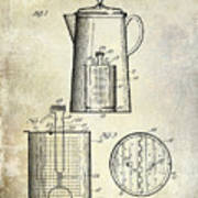 1921 Coffee Pot Patent Art Print