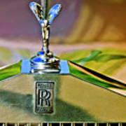 1921 Rolls-royce Silver Ghost Phaeton Hood Ornament Art Print
