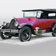 1922 Franklin Open Touring Sedan Art Print