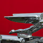 1924 Ford Hood Ornament Art Print