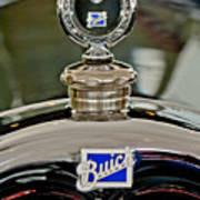 1926 Buick Boyce Motometer Art Print