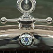 1926 Dodge Woody Wagon Hood Ornament Art Print