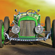 1926 Ford Model T 'dry Lakes' Roadster Viii Art Print
