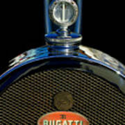 1927 Bugatti Replica Hood Ornament Art Print
