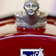 1928 Buick Custom Speedster Hood Ornament 2 Art Print