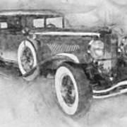 1928 Duesenberg Model J - Automotive Art - Car Posters Art Print