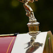 1928 Rolls-royce Phantom 1 Hood Ornament Art Print
