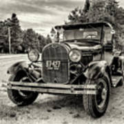 1929 Ford Model A Pickup Art Print