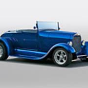 1929 Ford 'pretty Boy' Roadster Art Print