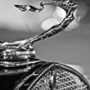 1930 Cadillac Roadster Hood Ornament 2 Art Print by Jill Reger