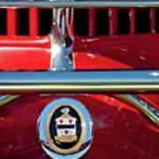 1930 Cord L29 Phaeton Emblem Art Print