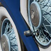 1930 Db Dodge Spare Tire Art Print