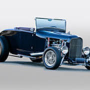 1930 Ford 'blu Mood' Roadster Art Print