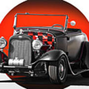 1930 Ford 'red Ball Express' II Art Print
