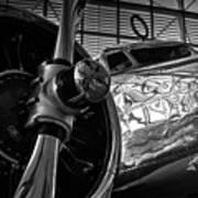 1930s Lockheed Electra Aircraft Art Print