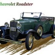 1931 Chevrolet Antique Roadster Art Print