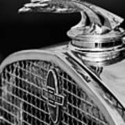 1931 Chevrolet Hood Ornament 4 Art Print