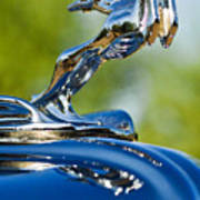 1931 Chrysler Cn Roadster Hood Ornament 2 Art Print