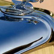 1931 Chrysler Cn Roadster Hood Ornament 3 Art Print