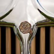 1931 Chrysler Coupe Grille Emblem Art Print